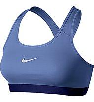 Nike Pro Classic reggiseno sportivo, Chalk Blue