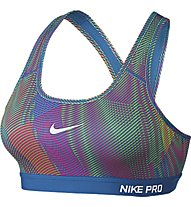 Nike Pro Classic Padded Frequency Sport-BH, Multicolor