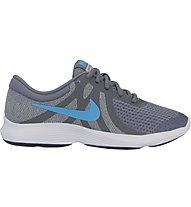 Nike Revolution 4 (GS) - neutraler Laufschuh - Jungen, Grey