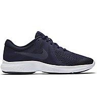 Nike Revolution 4 (GS) - neutraler Laufschuh - Jungen, Blue