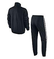 Nike Season Woven Herren Trainingsanzug, Black/White/White