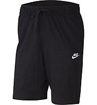 Nike Sportswear Club Jersey - pantaloni corti fitness - uomo, Black