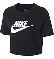 Nike Sportswear Essential Cropped - T-Shirt - donna, Black