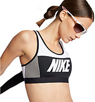 Nike Sport Distort Classic Medium Support Bra - Sport BH mittlerer Halt - Damen, White/Black/Grey