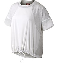 Nike SS Bonded Tee T-Shirt Donna, White