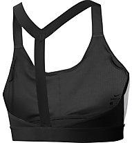 Nike Swoosh Medium Support - reggiseno sportivo a supporto medio - donna, Black