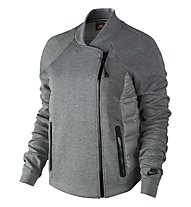 Nike Aeroloft Tech Jacke Damen, Carbon Heather/Dust/Black