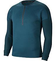 Nike Tech Pack Running - Langarmlaufshirt - Herren, Blue