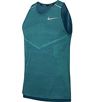 Nike TechKnit Cool Running - top running - uomo, Green