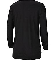 Nike W's Long-Sleeve Training - Shirt Langarm -Damen, Black