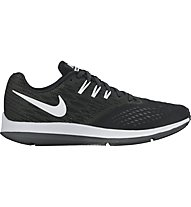 Nike Zoom Winflo 4 - Neutral-Laufschuhe - Herren, Black/White