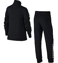 Nike NSW - tuta sportiva fitness - ragazza, Black