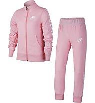 Nike NSW - tuta sportiva fitness - ragazza, Pink
