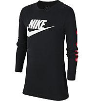Nike NSW Big Kids' (Boys') Long-Sleeve - maglia a maniche lunghe - ragazzo, Black