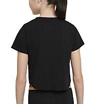 Nike NSW Big Kids' (Girls') - T-shirt - Mädchen, Black
