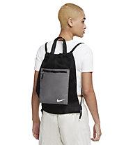Nike NSW Essentials GMSK-MTR - Gymsack, Black/Grey