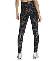 Nike NSW Icon Clash W's High-Waisted - pantaloni lunghi fitness - donna, Black/Silver