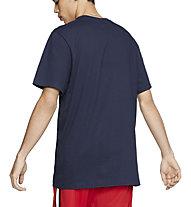 Nike Men's Brand Mark Tee - T-Shirt - Herren, Blue