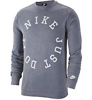 Nike Sportswear French Terry Crew - Sweatshirt - Herren, Blue
