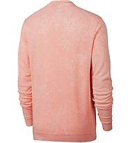 Nike Sportswear French Terry Crew - Sweatshirt - Herren, Red