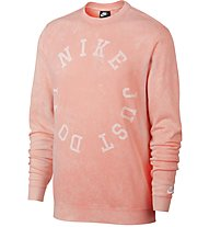 Nike Sportswear French Terry Crew - Sweatshirt - Herren, Red