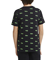 Nike NSW Script Big Kids' (Boys') Printed - T-shirt - Jungs, Black/Green