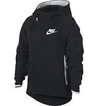 Nike NSW Sportswear Tech Fleece - Kapuzenpullover Fitness - Mädchen, Black