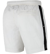 Nike NSW Swoosh Men Woven - pantaloni corti fitness - uomo, White/Black
