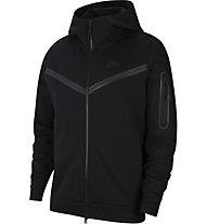 Nike NSW Tech Fleece M's Full-Zip - Trainingsjacke - Herren, Black
