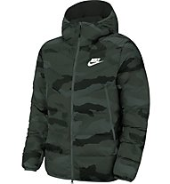 Nike Sportswear Windrunner Down Fill Men's Hooded Print - Winterjacke - Herren, Dark Green