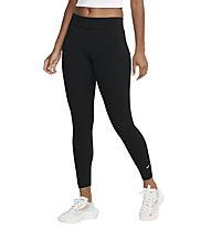 Nike Women's 7/8 Mid-Rise Leggings - Fitnesshosen - Damen, Black