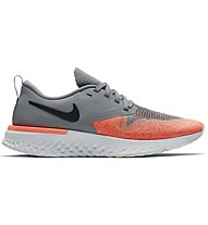 Nike Odyssey React 2 Flyknit - scarpe running neutre - donna, Grey/Orange