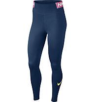 Nike One - pantaloni fitness e training - donna, Blue