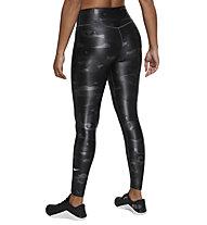 Nike One Camo W's Mid-Rise - Trainingshose - Damen , Black