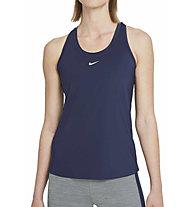 Nike One W's Slim Fit - Top - Damen , Blue