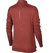 Nike Pacer - maglia a maniche lunghe running - donna, Red