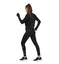 Nike Pacer - maglia a maniche lunghe running - donna, Black
