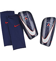 Nike Paris Saint-Germain Mercurial Lite Shin Guard - Schienbeinschützer, Blue/White