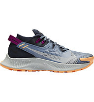 Nike Pegasus Trail 2 - Trailrunningschuhe - Damen, Light Blue/Dark Blue/Orange