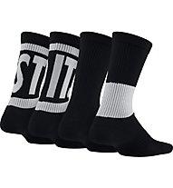 Nike Performance Cushioned Crew Training Socks (3 Pair) - Socken - Kinder, Black