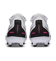 Nike Phantom GT Academy Dynamic Fit FG/MG - scarpa calcio terreni compatti, White/Pink