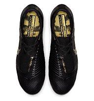 Nike Phantom Venom Elite SG-PRO AC - Fußballschuhe nasse Rasenplätze, Black/Gold