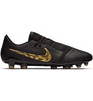 Nike Phantom Venom Pro FG - scarpa calcio per terreni compatti, Black/Gold