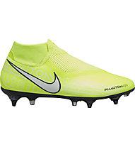 Nike Phantom Vision Academy Dynamic Fit Anti-Clog SG Pro - Fußballschuh nasse Rasenplätze, Light Green