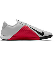 Nike Phantom Vision Academy Dynamic Fit IC - Fußballschuh Halle, Light Grey/Red