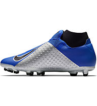 Nike Phantom Vision Academy Dynamic Fit MG - scarpe da calcio terreni multiground, Blue/Grey