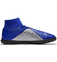 Nike Phantom Vision Club Dynamic Fit TF - Fußballschuh Hartplätze, Blue/Grey