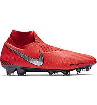 100% authentic bcb0d 32c44 Nike Phantom Vision Elite Dynamic Fit FG - scarpe da calcio terreni  compatti, Red