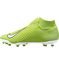 Nike Phantom VSN Academy DF FG/MG - scarpe da calcio multiterreno, Light Green