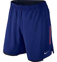"""Nike Phenom 2-in-1 7"""" pantaloncini running, Blue"""